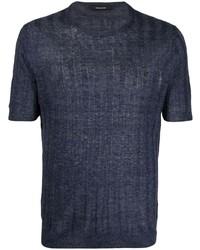Tagliatore Striped Short Sleeved T Shirt