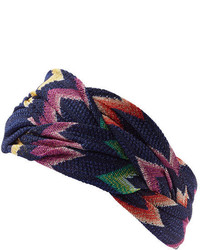Missoni Crochet Knit Headband