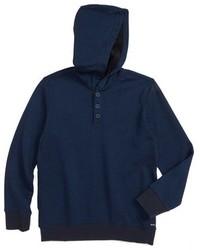 Boys capo twill knit hoodie medium 1125291