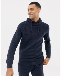 Esprit Funnel Neck Jumper In Chunky Knit