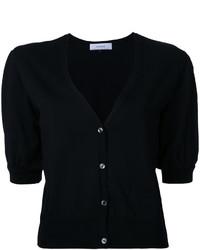 Lace balloon sleeve knit cardigan medium 3716326