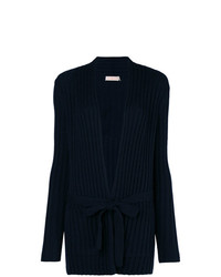 Tory Burch Lynn Ribbed Knit Cardigan