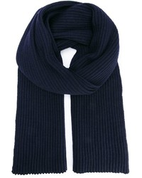 Ann Demeulemeester Grise Ribbed Scarf