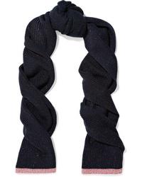 Rag & Bone Jubilee Metallic Merino Wool Blend Scarf