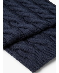 Mango Man Cable Knit Scarf
