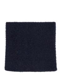 Maison Margiela Navy Wool Gauge 5 Casentino Scarf