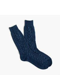 J.Crew Anonymous Ismtm Cable Knit Socks