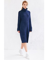 BDG Cowl Neck Sweater Midi Dress