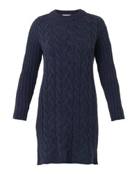 See By Chloe Chlo Cable Knit Sweater Dress