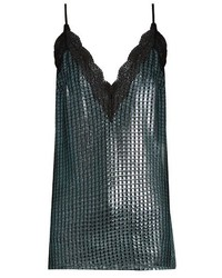 House of Holland Chain Mail Knit Cami Top