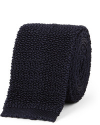Drakes 65cm knitted silk tie medium 38913
