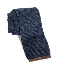 Brunello Cucinelli Knit Cotton Linen Tie