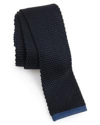 BOSS Solid Knit Silk Tie