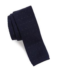 Eleventy Stitch Wool Knit Tie