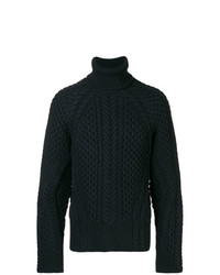 Alexander McQueen Cable Knit Sweater