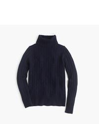 Cambridge cable chunky turtleneck sweater medium 446298