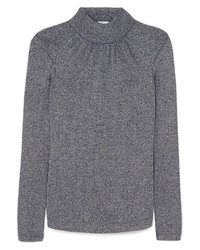 Golden Goose Deluxe Brand Gardena Gathered Lurex Turtleneck Sweater