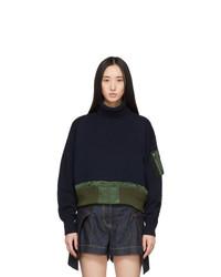 Sacai Navy Sweater