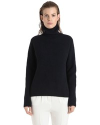 Rene storck cashmere rib knit turtleneck sweater medium 1198197