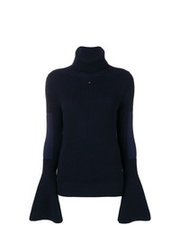 Lanvin Ribbed Turtle Neck Sweater