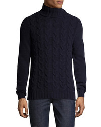 Woolrich Cable Turtleneck Sweater