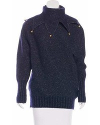 Chanel Bell Accented Wool Sweater