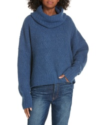 Nordstrom Signature Cable Cashmere Blend Sweater