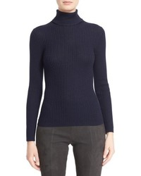 Collection cable knit turtleneck sweater medium 844869