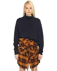 Faith connexion wool knit turtleneck sweater medium 638010