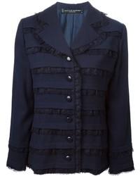 Jean Louis Scherrer Vintage Lace Panel Jacket