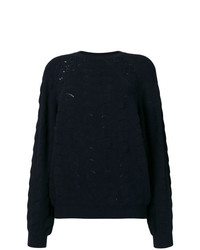 See by Chloe See By Chlo Lace Crochet Knit Sweater