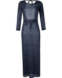BRIGITTE Longsleeved Lace Beach Dress