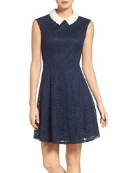 Betsey Johnson Imitation Pearl Lace Dress