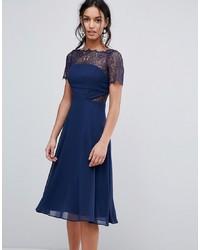 ASOS DESIGN Asos Panelled Midi Dress