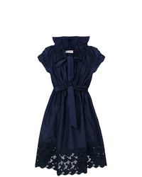 Lanvin Lace Trim Dress