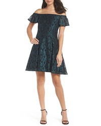 Morgan & Co. Off The Shoulder Lace Dress