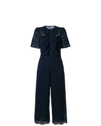 Temperley London Lunar Lace Detail Jumpsuit