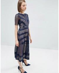 f22472fc7c1 ... Asos Premium Occasion Lace Midi Dress ...
