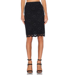 Fifteen-Twenty Fifteen Twenty Lace Pencil Skirt