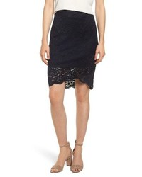 Rosemunde Lace Pencil Skirt