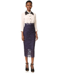 Monique Lhuillier Pencil Skirt