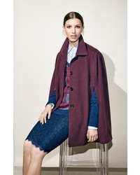 Diane von Furstenberg Scotia Lace Pencil Skirt
