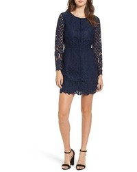 Cupcakes And Cashmere Spence Lace Sheath Dress