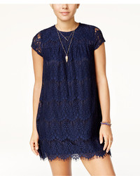 Speechless Juniors Lace Shift Dress