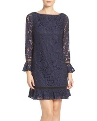 Lace shift dress medium 963906