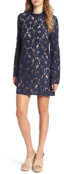 79 Wayf Lace Shift Dress