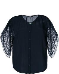 Diesel Lace Sleeves Shirt