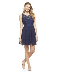 3hearts Lace Skater Dress