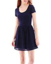 f5992086a2 Women s Navy Lace Skater Dresses from jcpenney
