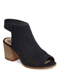 Vince Camuto Lavette Perforated Peep Toe Bootie
